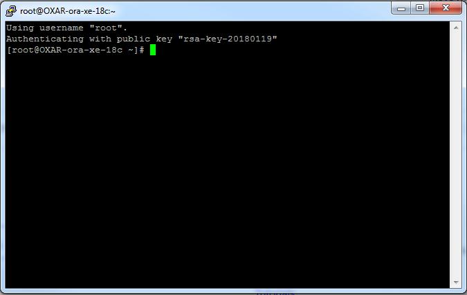 Oracle XE 18c APEX Server (Part 1)